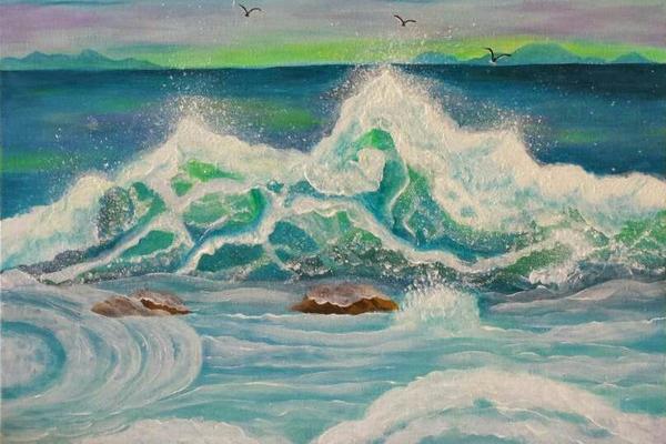 handmade painting 001
