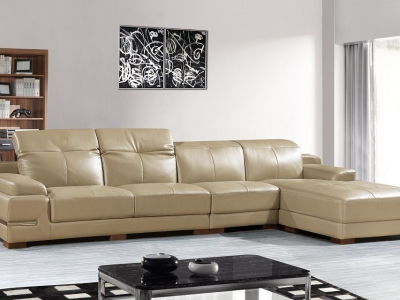 Leather Sectional psb02