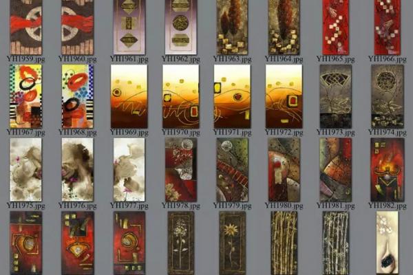 decorative picture order list 09#