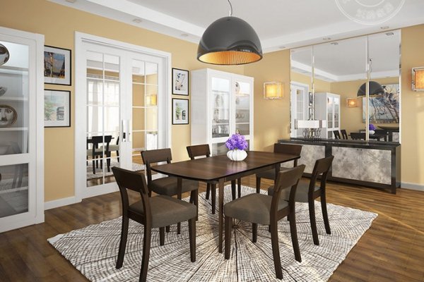 foldable dining table C6821#
