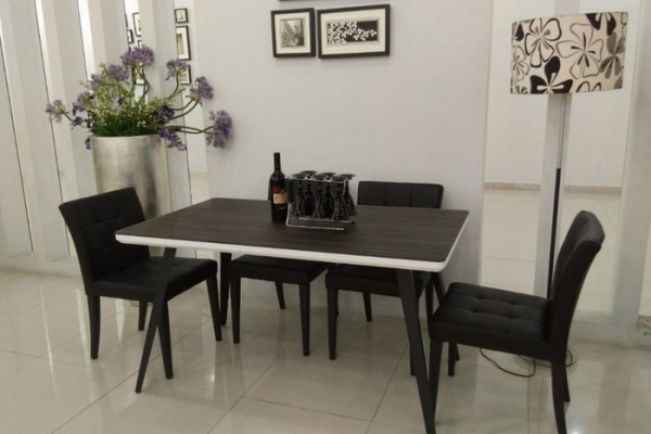 glass dining table RS-268#