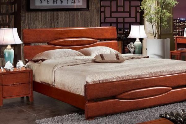 hard wood bed_M6311#